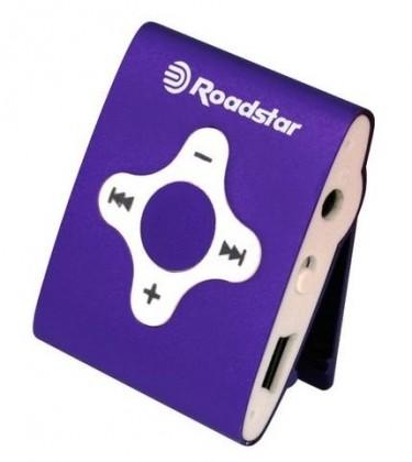 MP3, MP4 prehrávače,discmany Roadstar MP425PR purple ROZBALENO