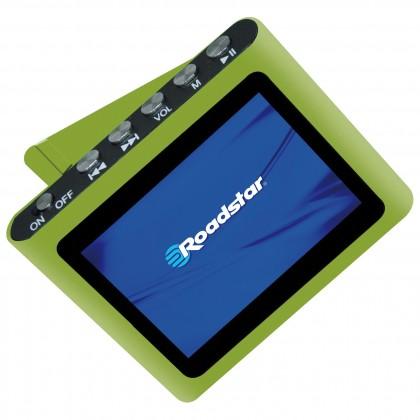 MP3, MP4 prehrávače,discmany  Roadstar MP450, Green, 4GB