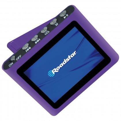 MP3, MP4 prehrávače,discmany  Roadstar MP450, Purple, 4GB