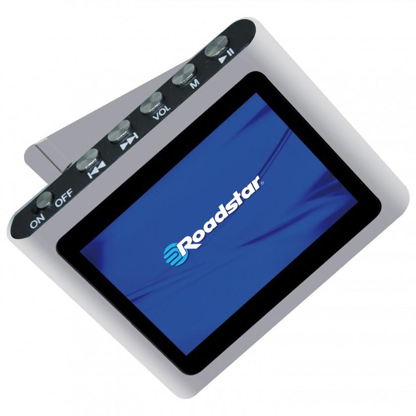 MP3, MP4 prehrávače,discmany  Roadstar MP450, Silver, 4GB