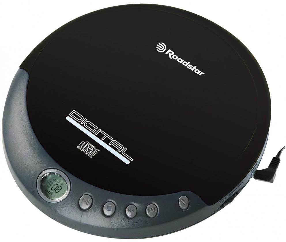 MP3, MP4 prehrávače,discmany  Roadstar PCD-290/BK