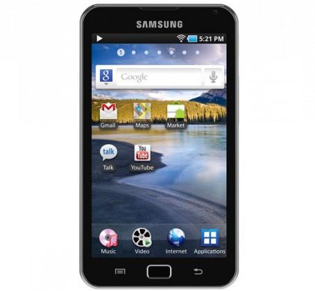 MP3, MP4 prehrávače,discmany  Samsung Galaxy S Wi-Fi 5.0 (MID) YP-G70 16GB, Black