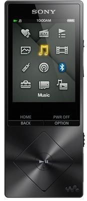 MP3, MP4 prehrávače,discmany Sony Hi-Res WALKMAN NWZ-A15 čierna (NWZA15B.CEW ROZBALENÉ