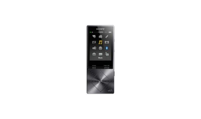 MP3, MP4 prehrávače,discmany Sony NW-A25HNB / 16GB, černá