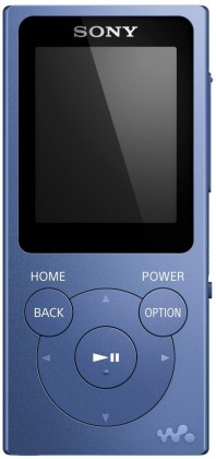 MP3, MP4 prehrávače,discmany Sony NW-E394 8 GB, modrá