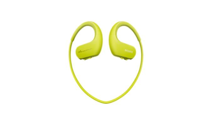MP3, MP4 prehrávače,discmany Sony NW-WS413 4 GB, zelená