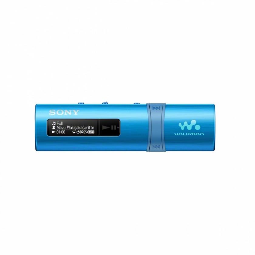 MP3, MP4 prehrávače,discmany Sony NWZ-B183F 4 GB, modrá