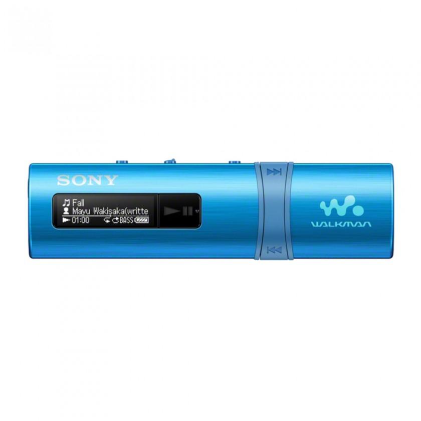 MP3, MP4 prehrávače,discmany Sony WALKMAN NWZ-B183L modrý (NWZB183L.CEW)