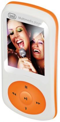 MP3, MP4 prehrávače,discmany Trevi MPV 1730SD, oranžová