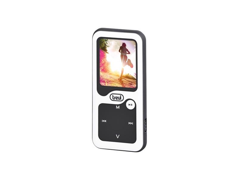 MP3, MP4 prehrávače,discmany Trevi MPV 1780 8 GB, biela