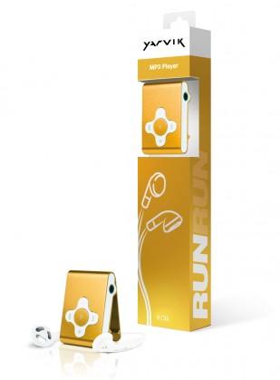 MP3, MP4 prehrávače,discmany  Yarvik MP3 přehrávač RUN 4GB Gold