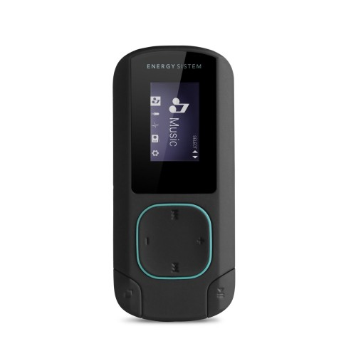 MP3 prehrávač ENERGY MP3 Clip Bluetooth Mint (8GB, MicroSD, FM,