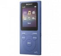 MP3 prehrávač Sony NW-E394 8 GB, modrý
