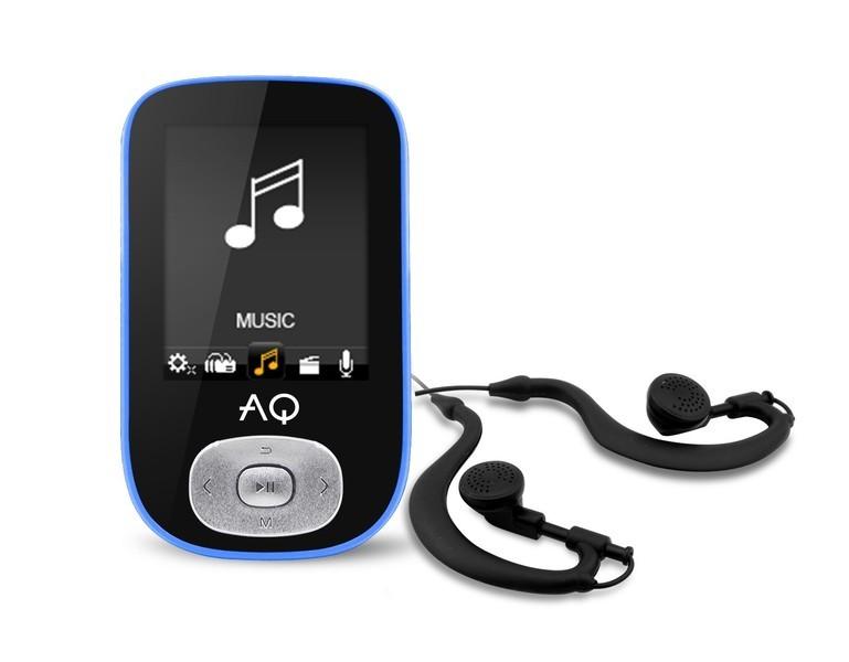 MP3 prehrávače AQ MP03 modrá