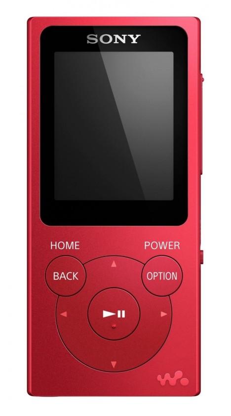 MP3 prehrávače MP3 prehrávač Sony NW-E394 8 GB, červená