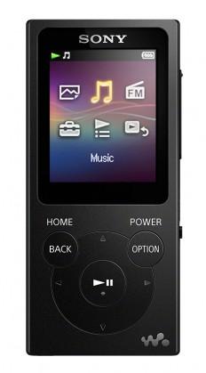 MP3 prehrávače MP3 prehrávač Sony NW-E394 8 GB, čierny