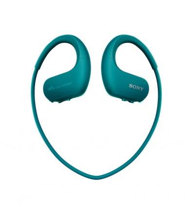 MP3 prehrávače Sony NW-WS413 4 GB, modrá