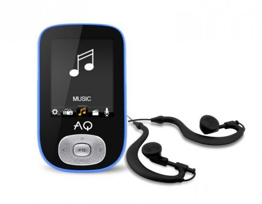 MP4 prehrávače AQ MP03 modrá