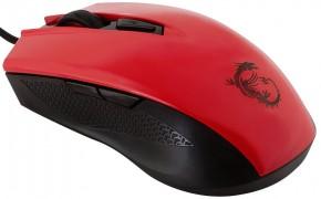 MSI Clutch GM40, červená S12-0401360-D22