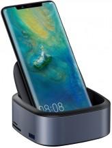 Multifunční húb Baseus pre mobilné telefóny s Type C, šedá