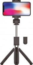 Multifunkčná 2v1 selfie tyč a trojnožka WG TRIPOD sa spúšťa