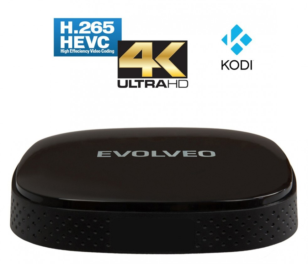 Multimediálne centrum EVOLVEO Android Box Q3 4K, Quad Core Smart TV box, ROZBALENÉ