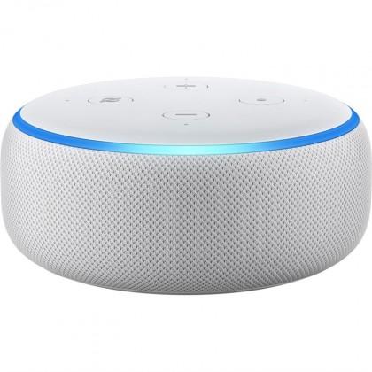 Multimediálne centrum Hlasový asistent Amazon Echo Dot Sandstone (bílý) (3.generace)