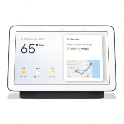 Multimediálne centrum Hlasový asistent Google Home Hub Charcoal
