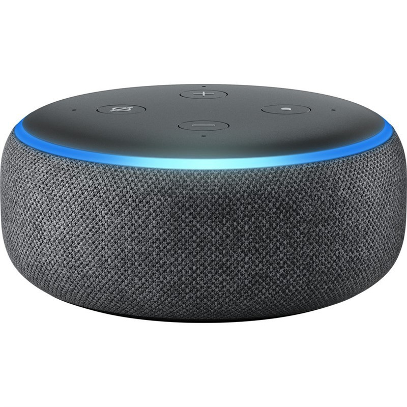 Multimediálne repro. Hlasový asistent Amazon Echo Dot Charcoal (černý) (3.generace)