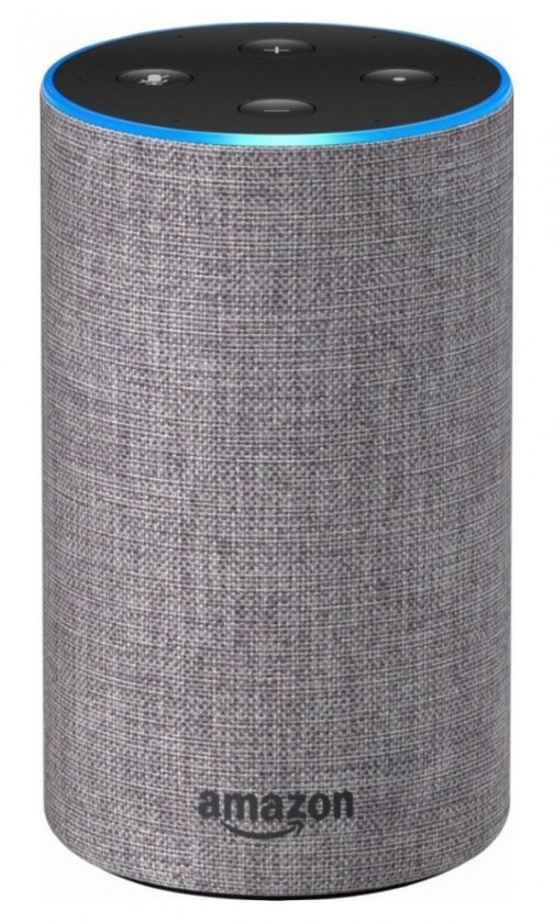 Multimediálne repro. Hlasový asistent Amazon Echo Heather Grey (šedý) (2.generace)
