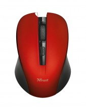 Mydo Silent Click Wireless Mouse - red