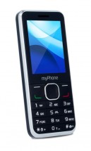 myPhone Classic Dual SIM, čierny