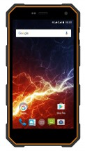myPhone HAMMER ENERGY, čierna/oranžová + Apei Business Ultimate Mini 7800 mAh