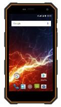 myPhone HAMMER ENERGY, čierna/oranžová