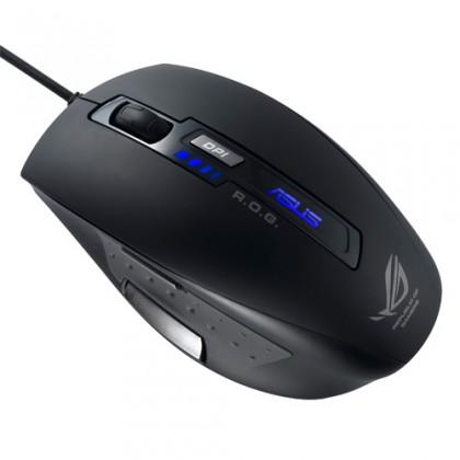 Myš  Asus Acc. laserová herní myš GX850, černá