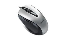 Myš  Genius Ergo 325 Laser/ drátová/ 1600 dpi/ USB/ stříbrná