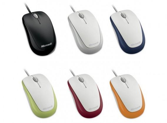 Myš  Microsoft Compact Optical Mouse 500 USB ALOE GREEN