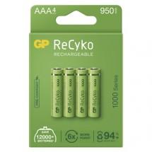 Nabíjacie batérie GP B21114 ReCyko, 1000mAh, AAA, 4ks