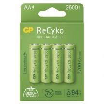 Nabíjacie batérie GP B21274 ReCyko, 2700mAh, AA, 4ks