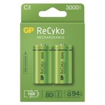 Nabíjacie batérie GP B2133 ReCyko, 3000mAh, C, 2ks