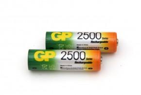 Nabíjacie batérie GP NiMH, AA, 2700mAh, 2ks