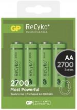Nabíjacie batérie GP NiMH, AA, 2700mAh, 4 ks