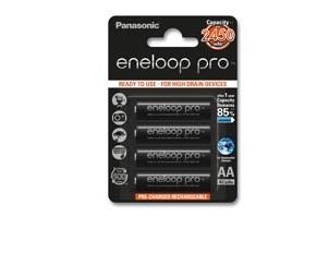Nabíjacie batérie, nabíjačky Batéria PANASONIC ENELOOP PRO AA 4ks 3HCCE/4BE