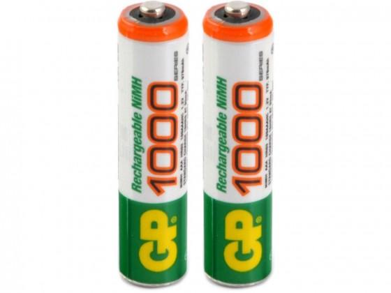 Nabíjacie batérie, nabíjačky Batérie GP Professional, AAA, 1000mAh, 2ks