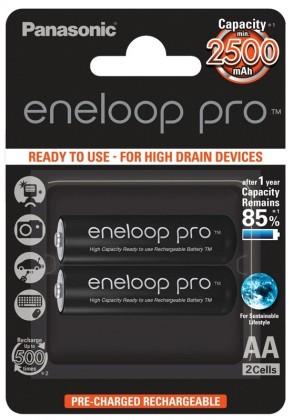 Nabíjacie batérie, nabíjačky ENELOOP PRO BK-3HCDE/2BE AA