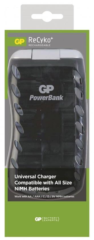 Nabíjacie batérie, nabíjačky GP B0019