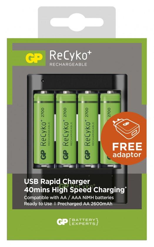 Nabíjacie batérie, nabíjačky GP B04217