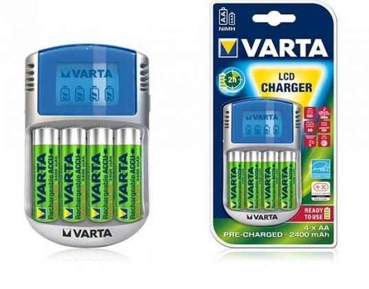 Nabíjacie batérie, nabíjačky LCD charger