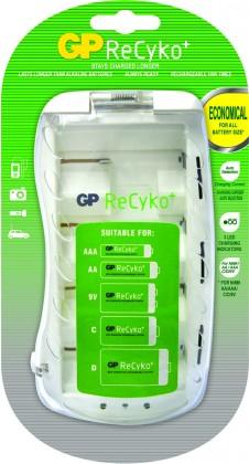 Nabíjacie batérie, nabíjačky Nabíjačka batérií GP B0019 4x AA / AAA / C / D / 9V
