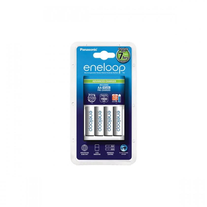 Nabíjacie batérie, nabíjačky Nabíjačka batérií Panasonic Eneloop KJ17MCC40E 4x AA
